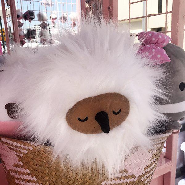 Snugglebuds Coconut Puffball echidna jumbo plush squishy