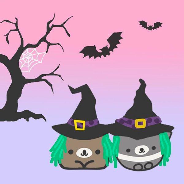 Snugglebuds halloween illustration