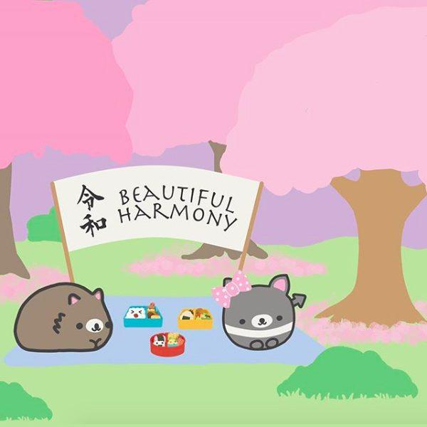 Snugglebuds friendship illustration