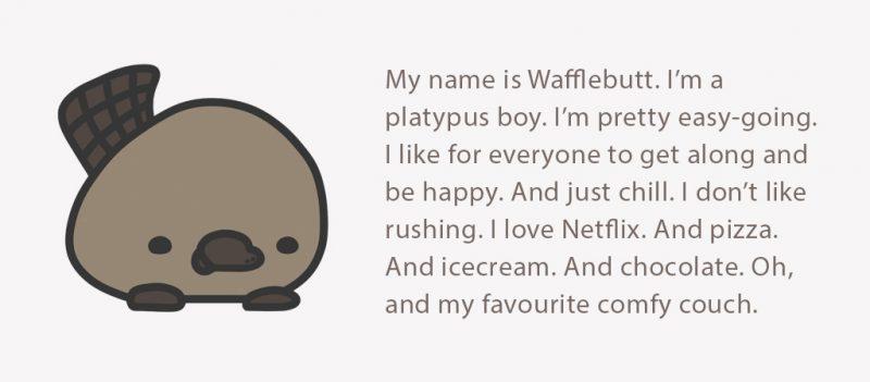 Little Aussie Snugglebuds - Wafflebutt platypus