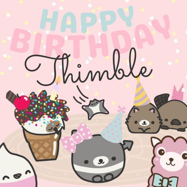 Happy Birthday Thimble