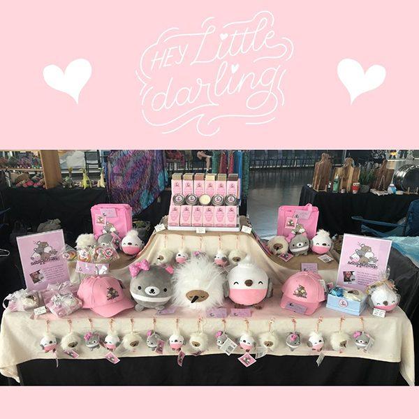 Snugglebuds market stall display